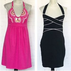 Victoria Secret Halter 2 Bra Top Dresses SZ Medium